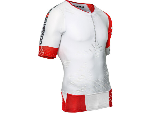 Compressport TR3 Aero Top Triatlón, white